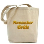 November Brides Tote Bag