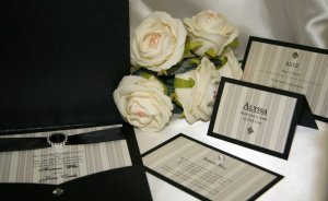Parisian Stripes Wedding Stationery Collection