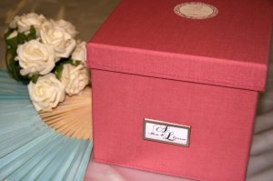 Keepsake Linen Box from B Studio