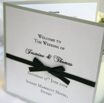 Sweet Petite Wedding Invitations Designer Menu