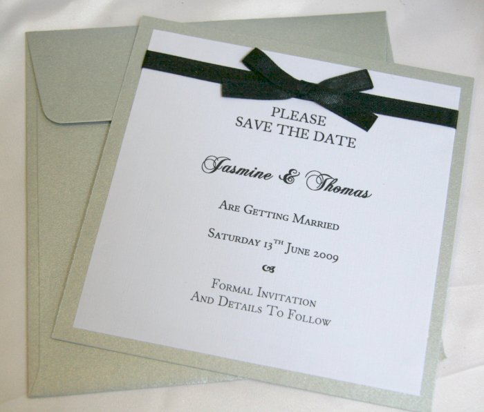 Matching Save the Date cards and designer menus have just been added to our