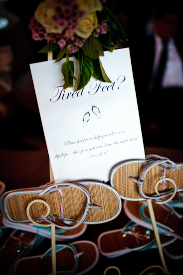 Matching signage at the reception custom made by B Studio Wedding Invitations
