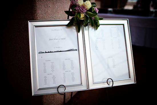 Table Plans custom made by B Studio Wedding Invitations