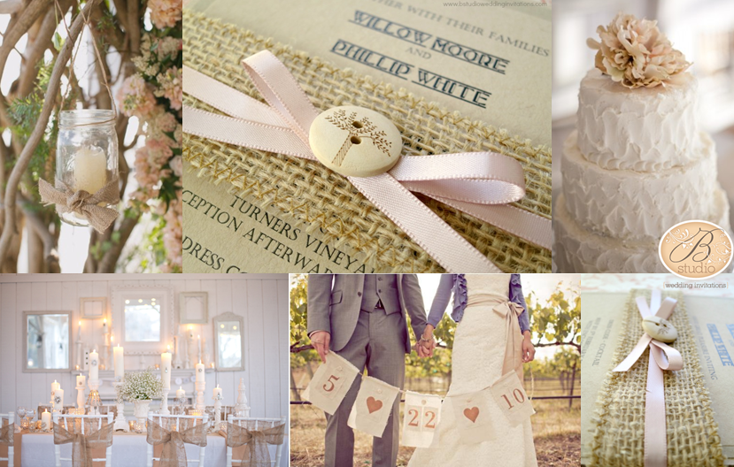 Rustic Romance Country Wedding Inspiration Board B Studio Invitations