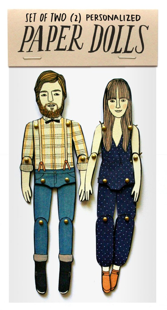 Personalized paper dolls by JordanGraceOwens