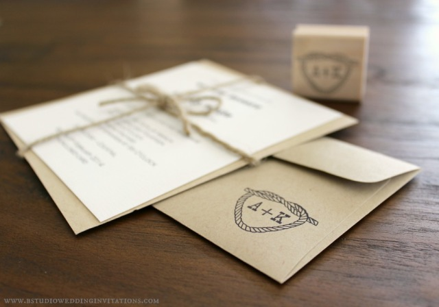Personalising Your Stationery With Custom Rubber Stamps B Studio Wedding Invitations