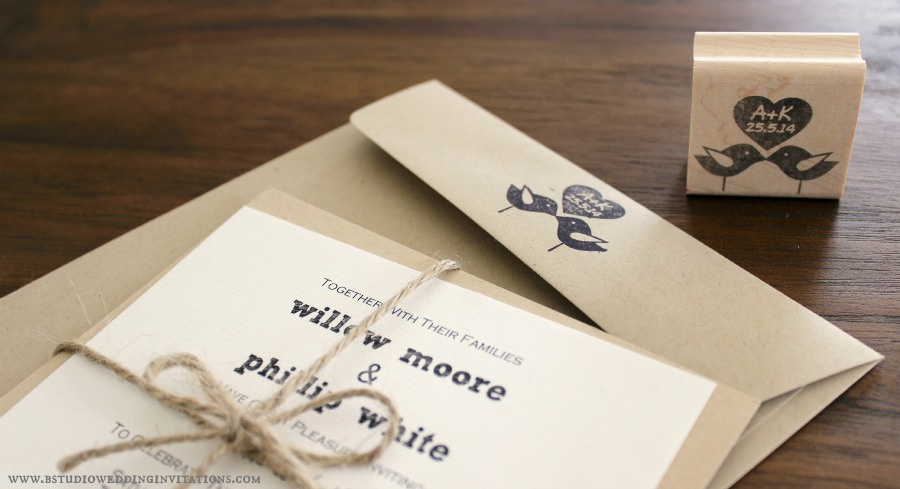 Personalized Stamps For Wedding Invitations: Personalising Your Stationery With Custom Rubber Stamps