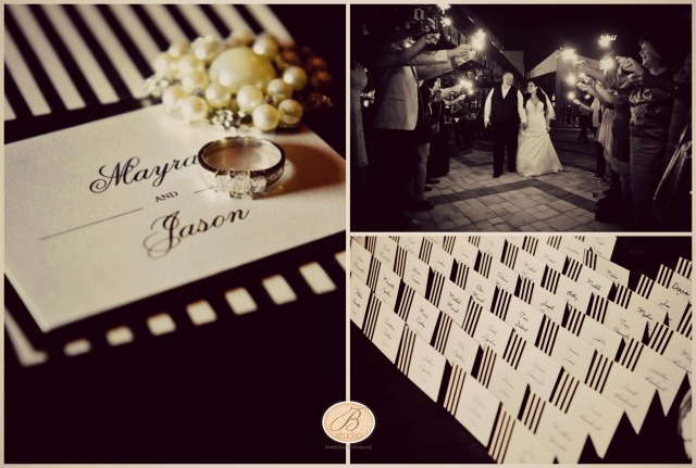 Mayra and Jason- enchanting stripes collage