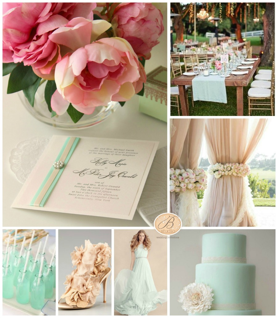 how to make a wedding inspiration board