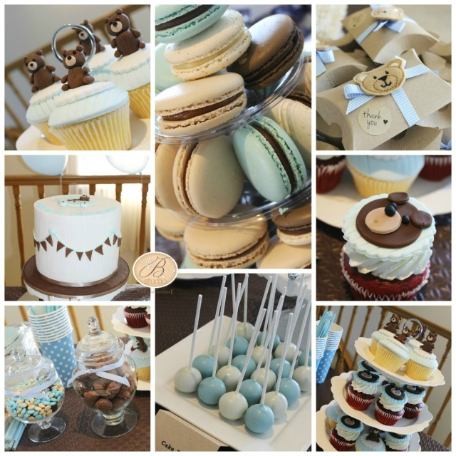 My Teddy Bear Baby Shower by B Studio
